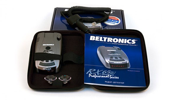 Радар детектор Beltronics rx65 RU